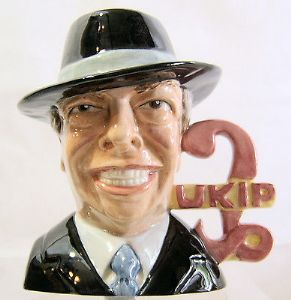 Bairstow Manor Collectables - Nigel Farage - UKIP - Prototype Dark Suit - SOLD